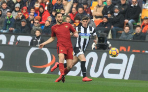 Рома изкопчи 3 точки в Удине