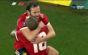 Хъдърсфийлд - Манчестър Юнайтед 0:1 /първо полувреме/