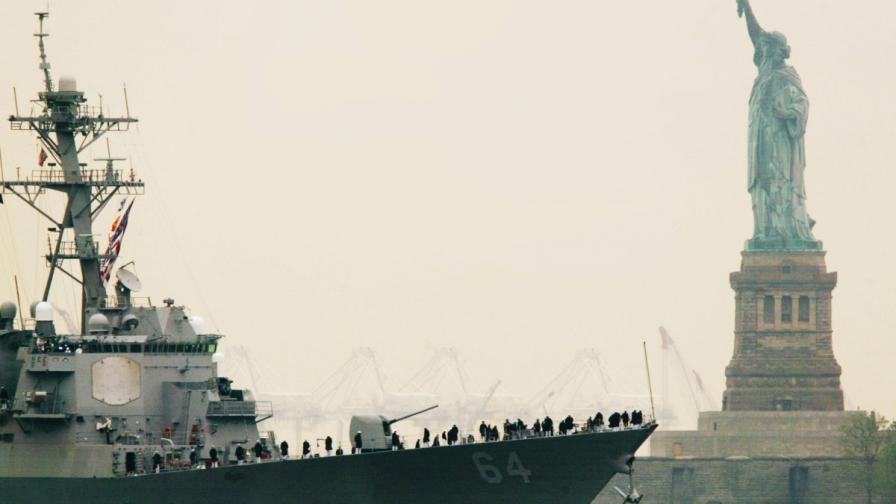 Втори американски боен кораб влезе в Черно море