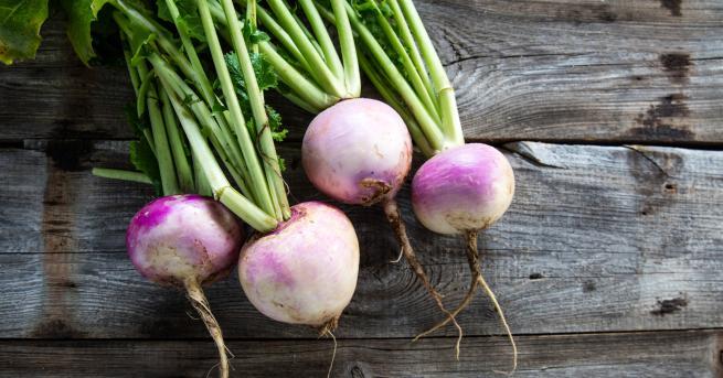 Ряпата е зеленчук с много лечебни свойства. Без значение дали