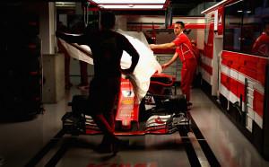 Ферари сменя цвета на болида за 2018-а?