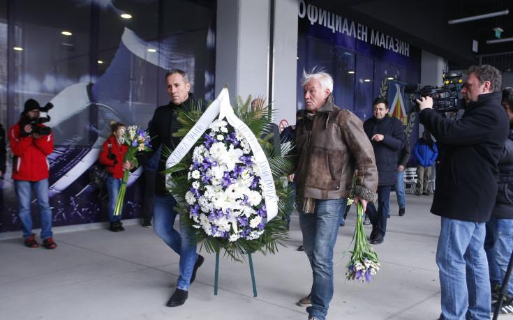 Отдадоха почит на легендата Павел Панов на