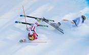 Тежки падания в ски кроса в Пьонгчанг
