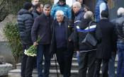 Синът на Гунди и футболни легенди отдадоха почит на Павел Панов<strong> източник: LAP.bg, Илиян Телкеджиев</strong>