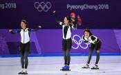 Япония изненада всички в отборното преследване в кънките при жените