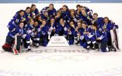 САЩ прекъсна олимпийската хегемония на Канада в женския хокей