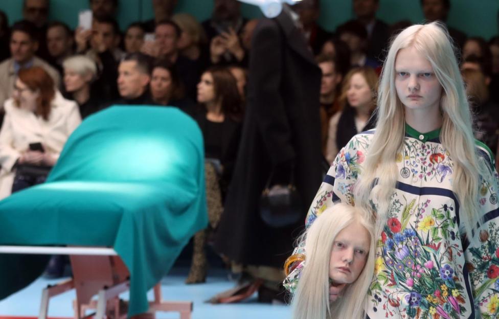 """- """"Гучи"""" на Седмицата на модата в Милано Есен/Зима 2018/19 г."""