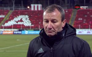 Стамен Белчев: Бяхме бавни и напрегнати