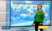 Прогноза за времето (23.02.2018 - централна емисия)