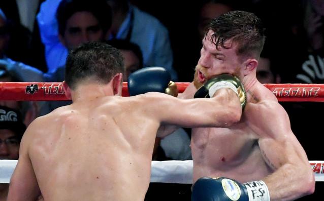 Генади Головкин срещу Канело Алварес източник: Gulliver/Getty Images