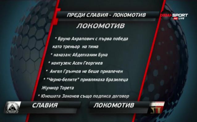Славия и Локомотив Пд играят в неделя от 17.30 ч.