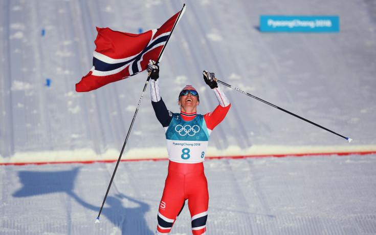Великата Марит Бьорген с осма олимпийска титла!