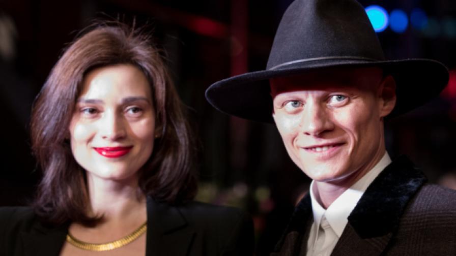 Ирмена Чичикова и исландският актьор Томас Лемарки