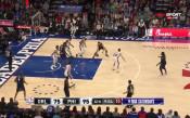 Седма поредна победа за Филаделфия в НБА
