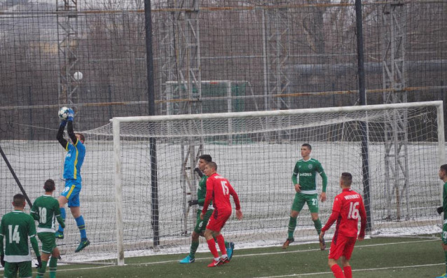 Лудогорец U17 - ЦСКА U17 1:0 източник: Gong.bg, Радка Минчева