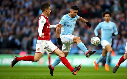 На живо в Купата на Лигата: Сити поведе на Арсенал