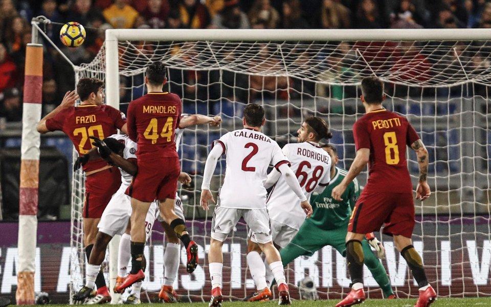 Какво може да очакваме от голямото дерби Милан - Рома