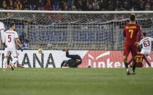 Вдъхновен Милан пречупи Рома насред Рим