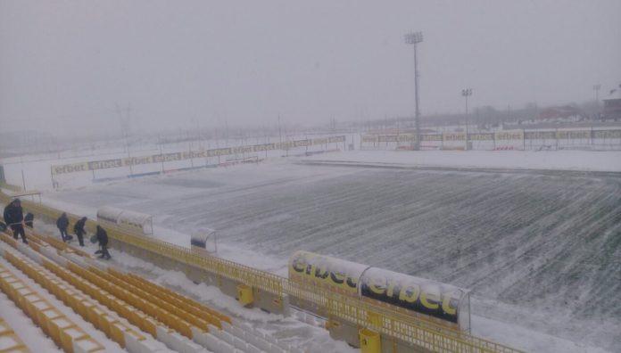 Стадионът в Коматево<strong> източник: plovdivderby.com</strong>