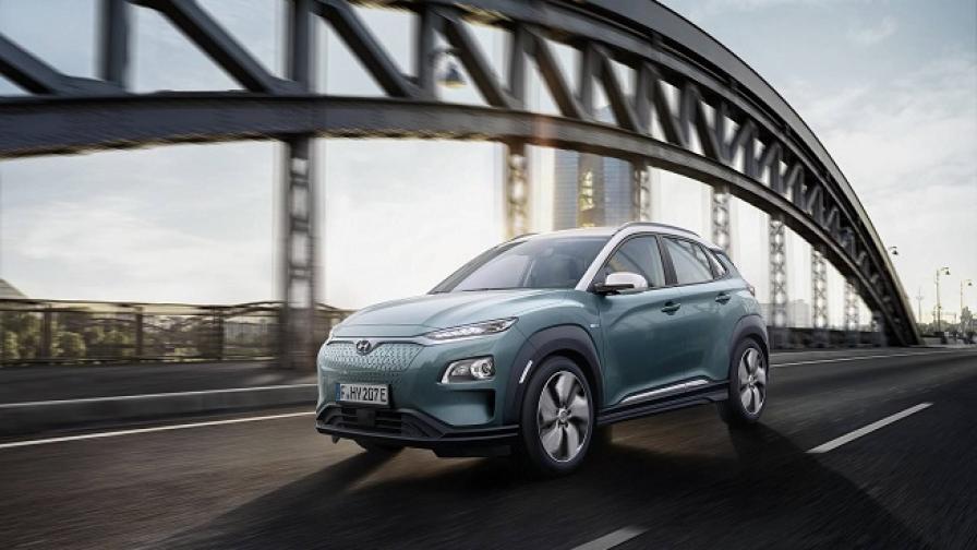 Електрическият Hyundai Kona ще минава до 470 км