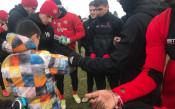 Малчуган изненада футболистите на ЦСКА<strong> източник: cska.bg</strong>