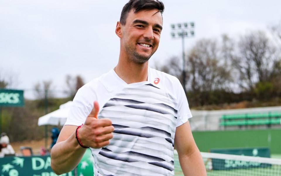 Димитър Кузманов на полуфинал в Германия