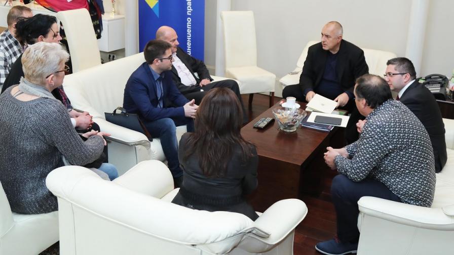 Борисов и протестиращи се разбраха за магистрала до Видин