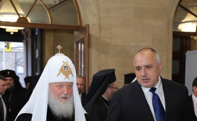 Борисов благодарил пред патриарха на всички народи, участвали в освобождението ни