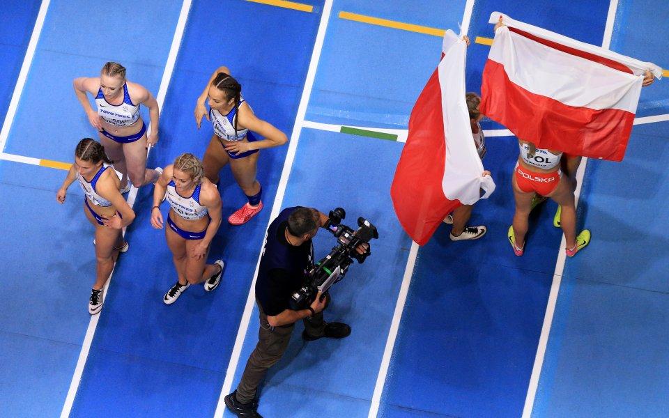 Поляците шокирани от световния си рекорд на  4 по 400 метра