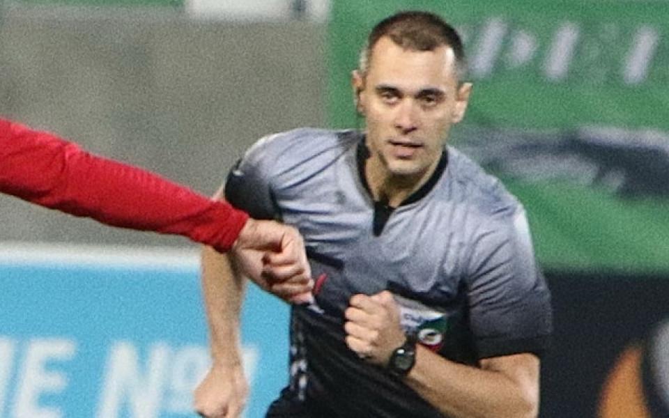 Драгомир Драганов ще ръководи дербито от 17-ия кръг на efbet