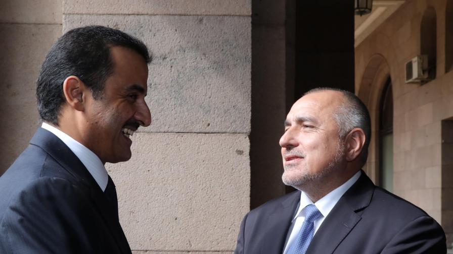 Борисов и Радев поискаха милиардите на Катар