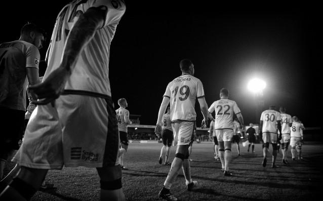 Играчите на Торки Юнайтед<strong> източник: Gulliver/Getty Images</strong>
