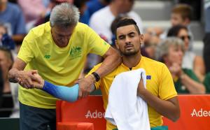 И Кириос се оттегли от Ролан Гарос заради травма