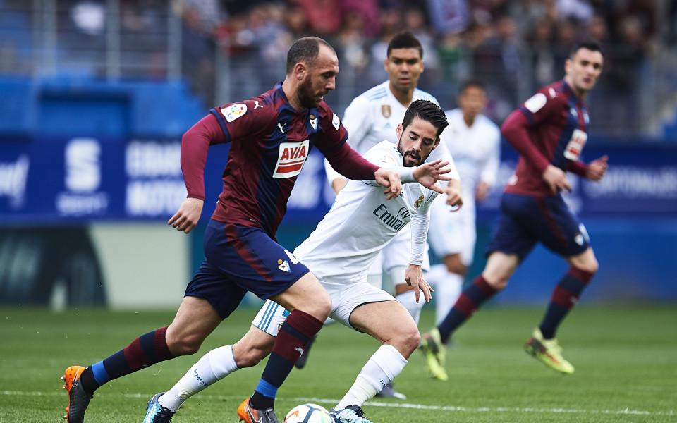 Реал едва отърва кожата в Ейбар