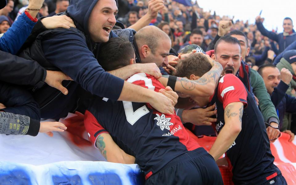 Каляри се справи с Удинезе в Серия А
