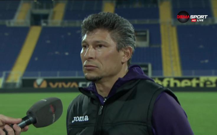 Балъков: Етър не е отбор, който трябва да изпадне