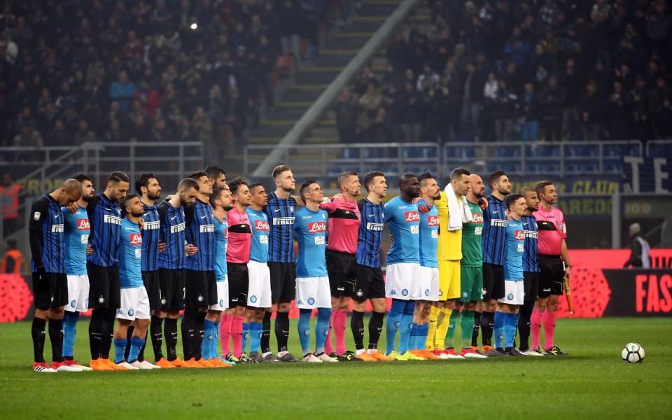 Наполи сдаде първото място след скучен хикс в дербито с Интер