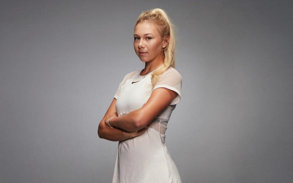 Двойничка на Ана Курникова пробива в световния тенис