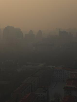 Смог над китайската столица Пекин