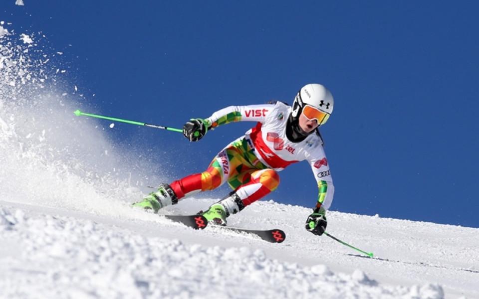 Започна държавното на алпийците, внучката на Боян Радев първа в гигантския слалом