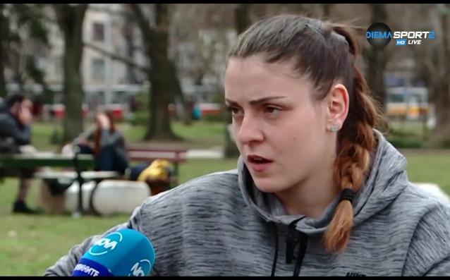 Волейболистката на Левски Мирослава Паскова коментира предстоящото дерби с ЦСКА