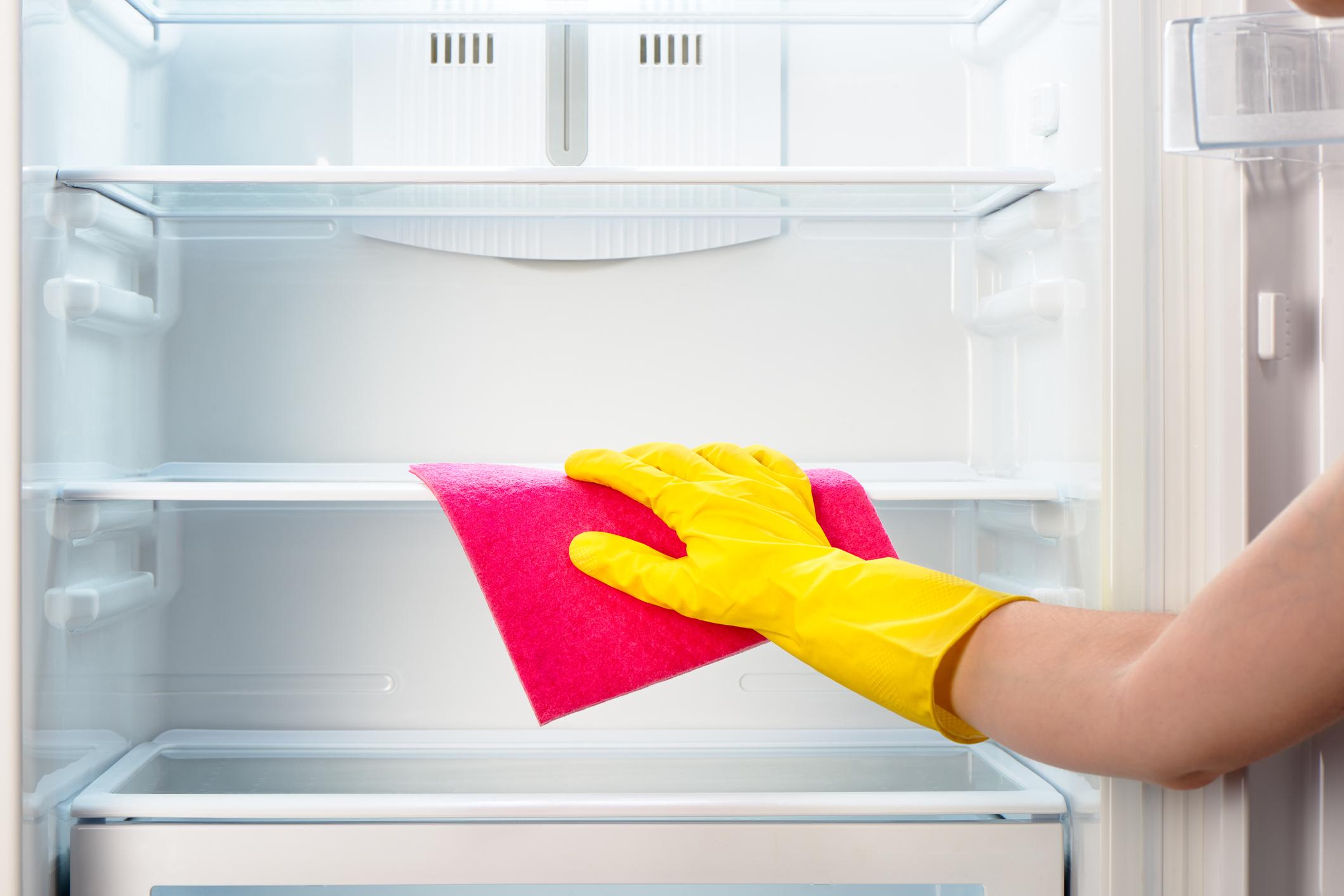Хладилникът е добре да бъде почистен също, но и да бъде размразен.