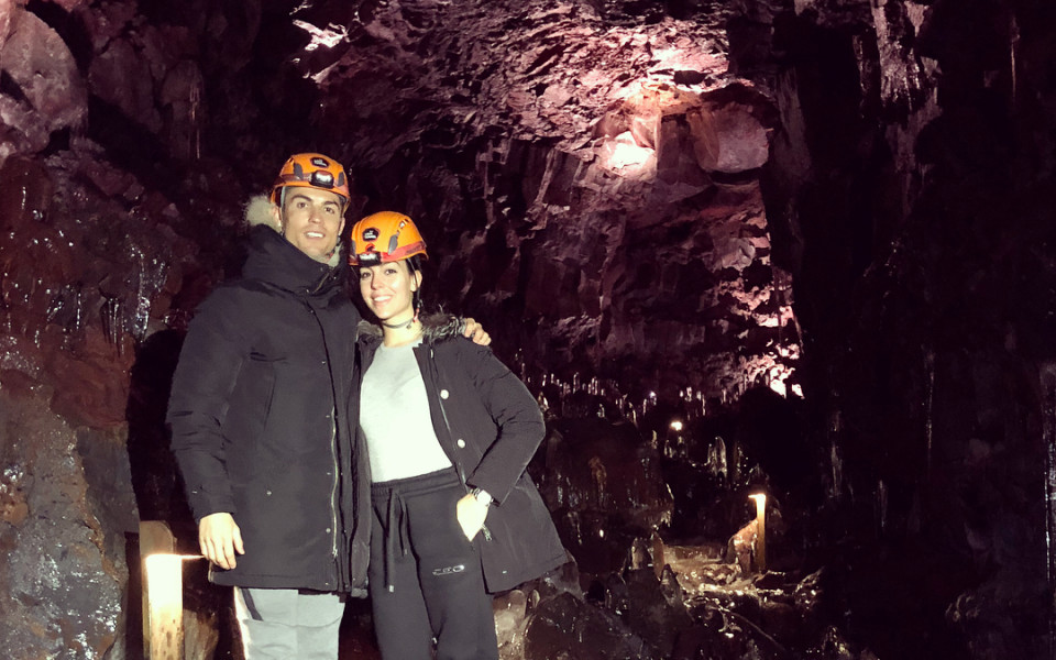 Джорджина разкри още от зимната ваканция с Кристиано