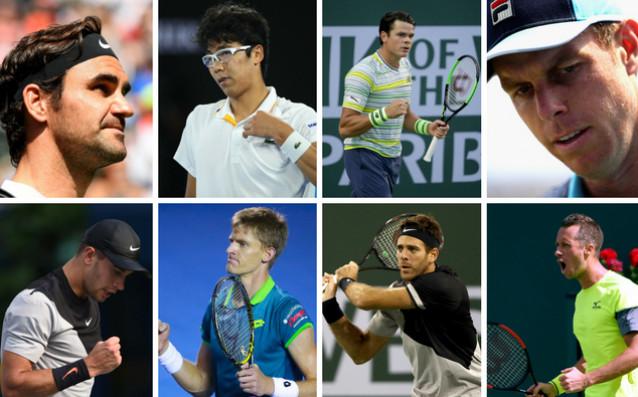 Вече седмица най-добрите в света на тениса ни радват с