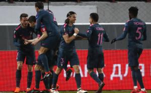 Атлетико Мадрид тренира само с 4-ма
