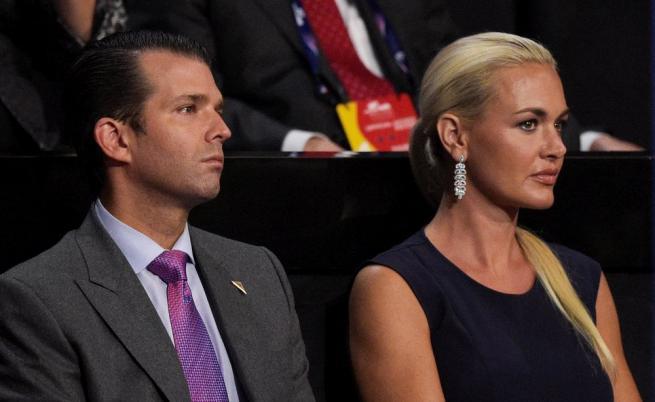 Доналд Тръмп-младши и бившата му съпруга Ванеса