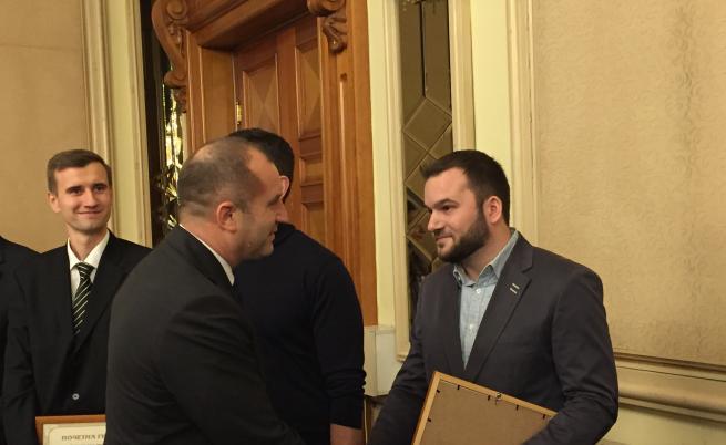 Компанията MP Studio е наградена от президента Румен Радев за за Иновативна компания на годината в креативната индустрия през 2017г.