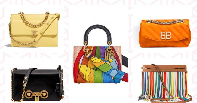 Малки, цветни, пролетни, леки, само за най-необходимото, прекрасни. Такива чанти