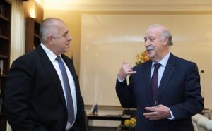 Премиерът Борисов се срещна със знаменит треньор