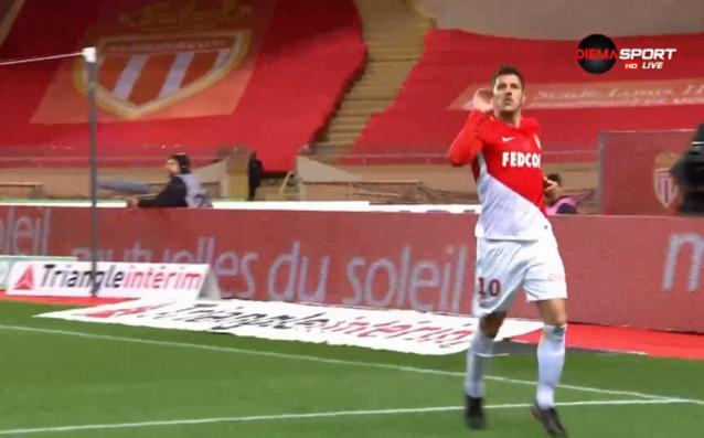 Монако не убеди с играта си, но победи предпоследния Лил